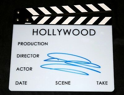 Diane Keaton HAND SIGNED Movie Director Clapboard + PROOF PHOTOS godfather hall