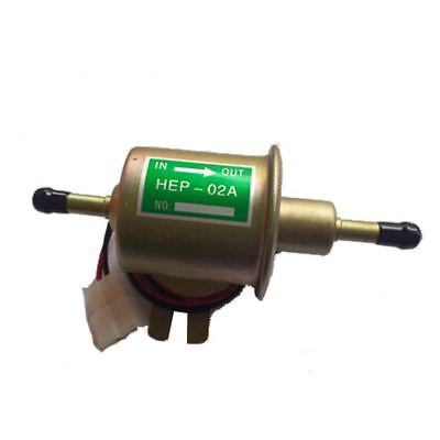 Universal Diesel Petrol Gasoline Electric Fuel Pump HEP-02A Low Pressure 12V