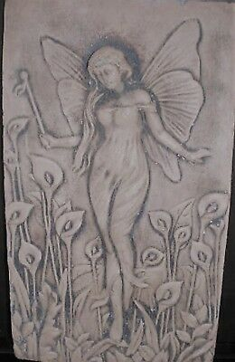 Fairy Wall Plaque, Latex Craft Mould Ornament Reusable Art & Crafts Hobby