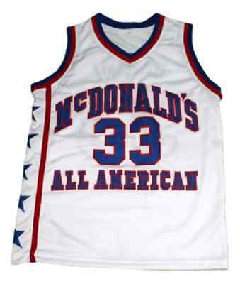 8697777ba Bryant  33 McDonald s All American Men New Basketball Jersey White Any Size