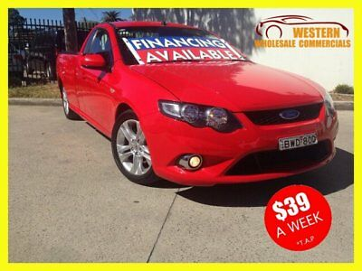 2010 Ford Falcon FG XR6 Cab Chassis Super Cab 2dr Spts Auto 4sp, 700kg 4.0Gi A