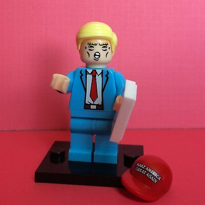 Donald Trump Mini Figure Building Block Toy