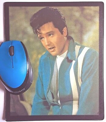 Speedway Blue Hawaii Flaming Star G I Blues Elvis Presley movie poster Mouse Mat