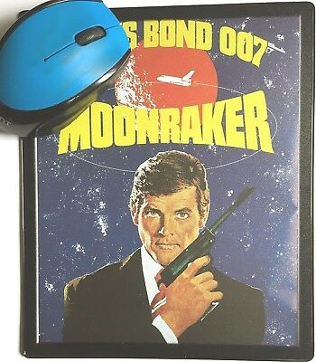 Moonraker Golden Gun Casino Royale movie poster Mouse Mats New Sean Connery