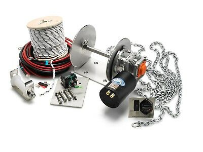 Electric Anchor Winch DRUM WINCH TW240 Australian Made winch kit