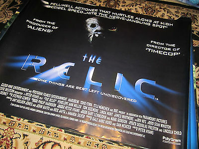 The Relic - 1997 - Original (Double Sided) UK Quad Poster