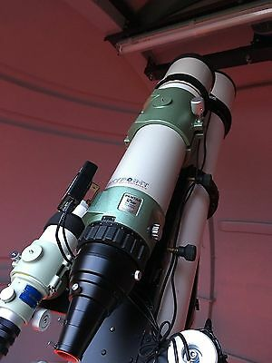 Telescope Pentax 125 SDP with giant reducer, rings, accessories and case