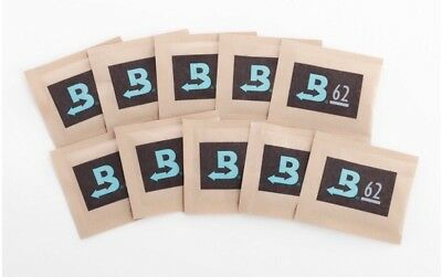 Boveda 62-Percent RH 2-Way Humidity Control, 8 gram - 10 Pack, New