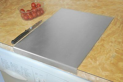 Stainless Steel Worktop Saver/Stainless Steel Chopping Board Square Edge