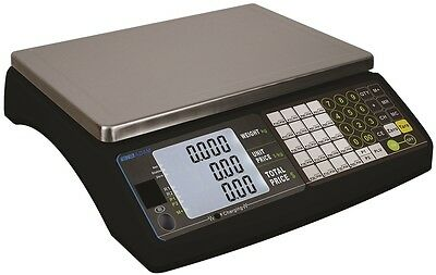 15KG Price Retail Scale/Shop Scales Legal Trade Approved Deli Butcher Fish Shop