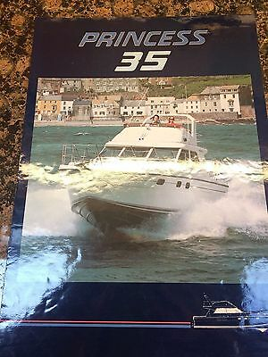 Princess 35 Brochure Watercraft Power boating Motor Cruiser