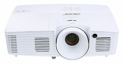 Acer Essential Series X115H (MR.JN811.002) Protable 3D DLP Projector in White