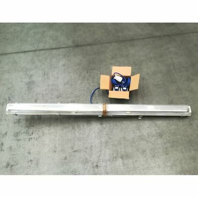 Defender 240V 5ft Fluorescent Fitting Only Wired (CLEARANCE)