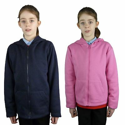 EX Chainstore Kids / Children's Boys Girls Fleece Hoodie Hooded Jacket Top