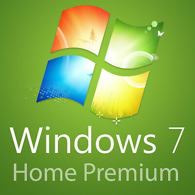 Genuine Microsoft Windows 7 Home Premium 32/64bit Product Activation Key