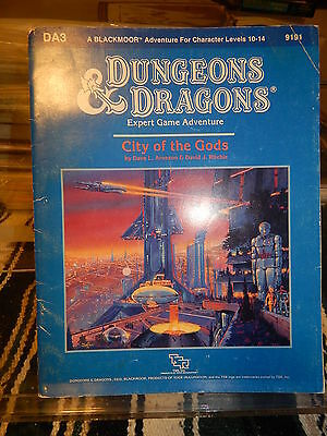 TSR 9191 Dungeons & Dragons DA3 City of the Gods