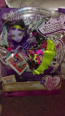 Ever After High Kitty Cheshire Way To Wonderland Doll Free P/p Uk Seller Nib