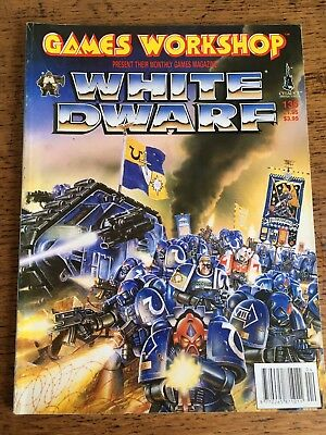 Games Workshop Warhammer White Dwarf Magazine