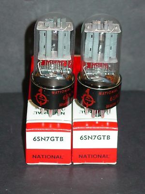 6SN7 GTB Tube.  New Old Stock.  Twin Triode.  Super Audio Amp Valve