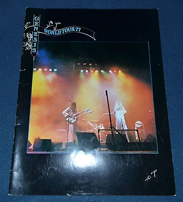 Genesis 1977 World tour Program