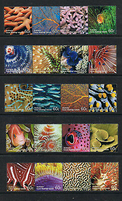 STAMPS AUSTRALIA COCOS (KEELING) ISLAND  2011-COLOURS OF THE REEF   MNH  lot C39