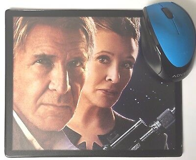 Star Wars The Force Awakens Ford Hamill Fisher movie poster Mouse Mats/ Pads New