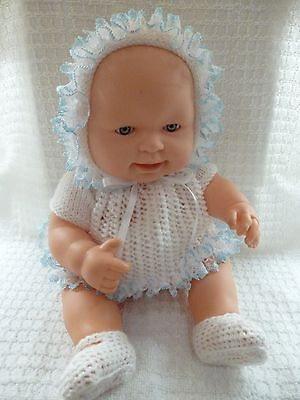 "Knitted set for a 13-14"" Chubby Doll  11"" CHEST"