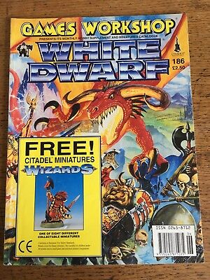 Games Workshop Warhammer White Dwarf Magazine's