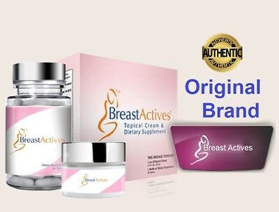 FRESH Breast Actives All Natural Breast Enhancement Combo Kit Exp 07/2018