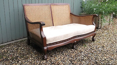 Bergere Suite comprising Sofa & Two Chairs for restoration