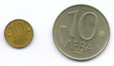 Coins from Bulgaria
