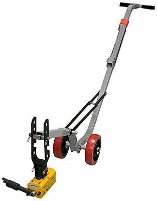 Allegro 9401-25A Magnetic Manhole Lid Lifter, Aluminum Dolly, 660 lb Flat Items
