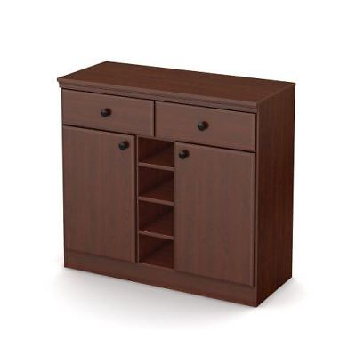 South Shore Morgan Storage Console, Royal Cherry