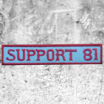 "Support 81 Aufnäher Patch ""Support 81"" Big Red Machine HAMC North End"
