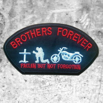 "Support 81 Aufnäher Patch ""Brothers Forever"" Big Red Machine HAMC North End"
