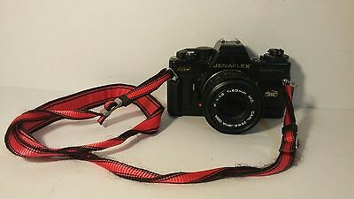 Jenaflex AM-1 vintage camera with P 1:1.8 f-50mm MC lens - Tested