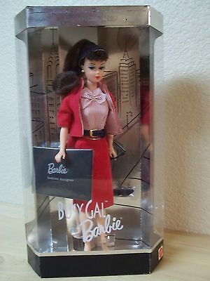 New In Box-Reproduction Barbie Busy Gal-Brunette Ponytail-Awesome Repro Outfit