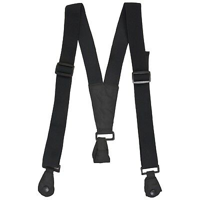 Trespass Good Quality Braces Adults Black Ski Pants Salopettes Security Braces