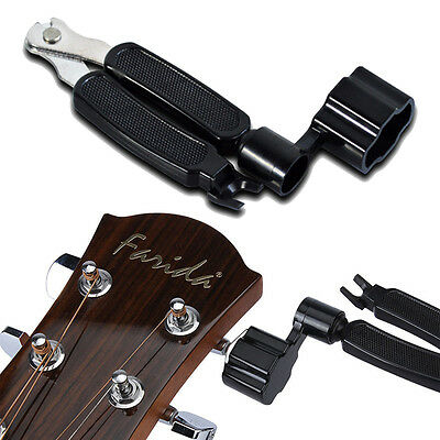 Planet Waves Pro Winder 3 in 1 Guitar String Winder, Cutter & Bridge Pin Puller