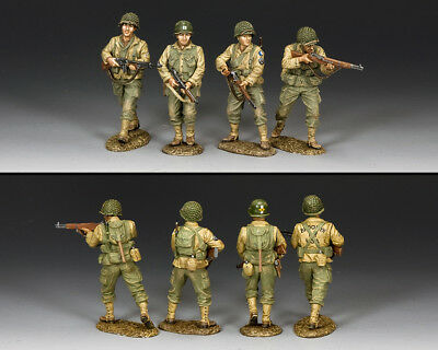 "KING AND COUNTRY ""Searching For Private Ryan"" Set #1 D Day WW2 DD305"