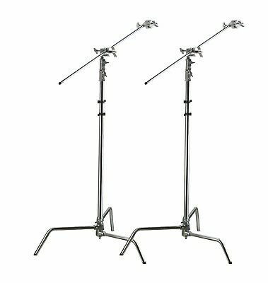 """2pc C-Stand Combo Package """"heavy-duty"""" stands"""