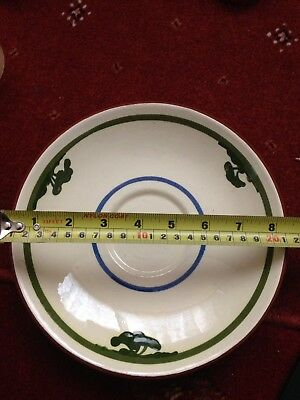 Large Dartmouth Pottery Saucer Motto Ware