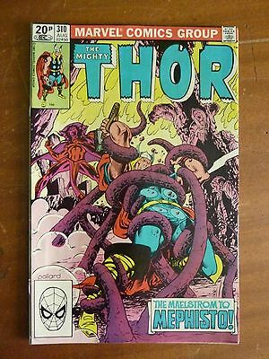 Marvel - The Mighty Thor August 1981 No. 310