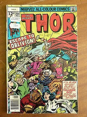 Marvel - The Mighty Thor May 1977 No. 259