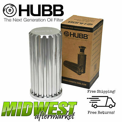 Hubb Lifetime Reusable Oil Filter Fits 2011-2016 Ford F-250/350 6.7L