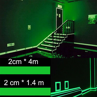 Glow In The Dark Luminous Tape Home Stage Decorations Green Fluorescent New Fad