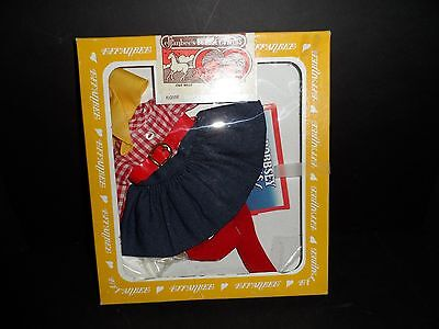 """Vintage Effanbee Bobbsey Twins 11"""" Flossie """"Out West"""" Fashion Outfit"""