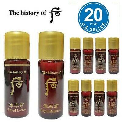 The History of Whoo Jinyul Balancer Lotion Set 20pcs Anti-Aging Newest Ver