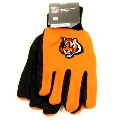 Cincinnati Bengals Team Color Utility Gloves
