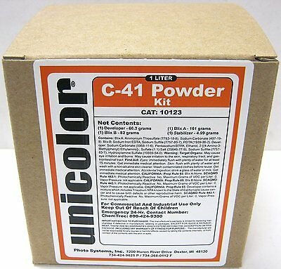 Ultrafine Unicolor C-41 Powder Home Color Film Developer Kit (1 Liter) 35mm 120
